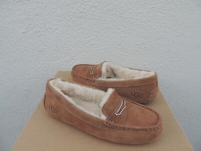15238a8e719 UGG VIOLETTE SUEDE SLIPPERS , Womens US 9, Color: CHESTNUT, 1016048 ...