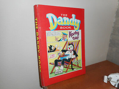 Dandy Annual 1964. Comic book featuring Korky the Cat cover picture