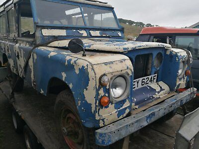 Land rover series 2 station wagon