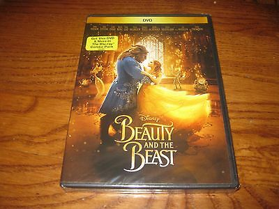 Beauty and the Beast: Disney Movie Rewards DVD 2017) New Y-Fold Seal + Fast Ship