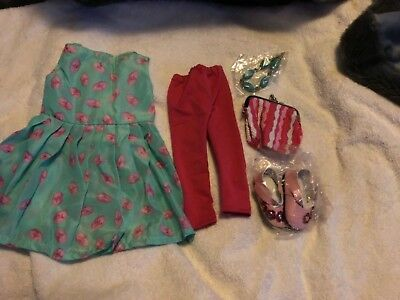 "LIQUIDATION SALE 18"" American Girl Doll Clothes  6pc Accessories too"