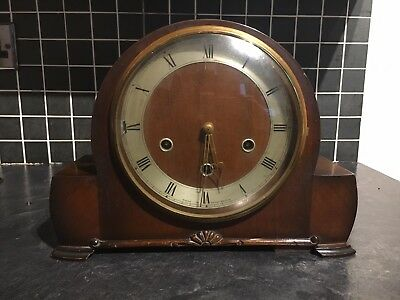 Antique/vintage Smiths Westminster Chimes Mantle Clock