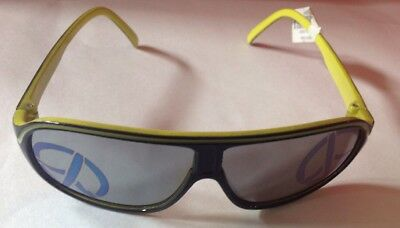 NWT Gymboree Black Yellow AVIATOR PEACE SIGN Sunglasses Ages 2-4 YEARS Boy