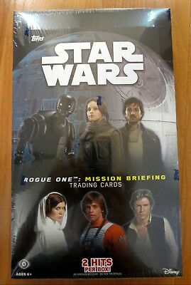 Star Wars Rogue One: Mission Briefing Sealed Hobby Box