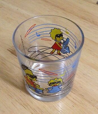 Small Simpsons Drinking Glass © 2001.