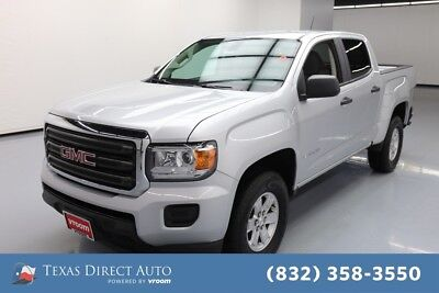 2018 GMC Canyon 2WD Texas Direct Auto 2018 2WD Used 2.5L I4 16V Automatic RWD Pickup Truck