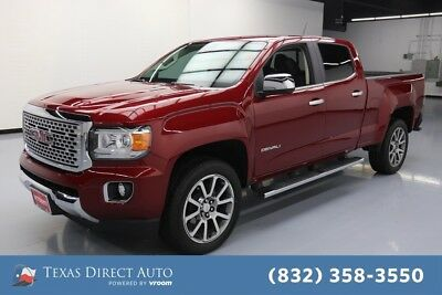 2018 GMC Canyon 4WD Denali Texas Direct Auto 2018 4WD Denali Used Turbo 2.8L I4 16V Automatic 4WD Pickup