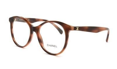 a4ae3f7b5a5 NEW CHANEL CH 3361 c.714 TORTOISE BROWN EYEGLASSES FRAME 50-17 AUTHENTIC Rx