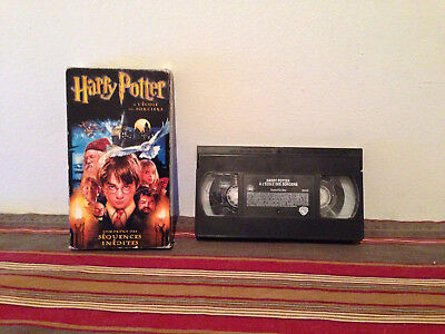 Harry Potter and the Philosopher's Stone  HP a l'ecole des sorciers VHS FRENCH