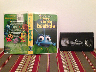 A bug's life / Une vie de bestiole VHS tape & clamshell case FRENCH 2/2