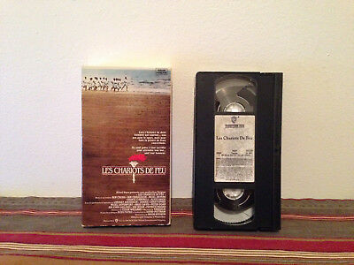 Chariots of Fire / Les chariots de feu  (VHS, 1992) tape & sleeve FRENCH