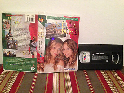 Un ete a rome VHS tape & clamshell case FRENCH