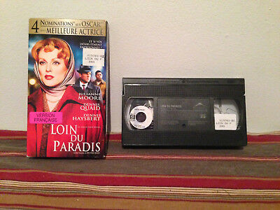 Far from heaven / Loin du paradis VHS tape & sleeve FRENCH