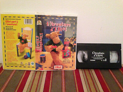 L'aventure d'Elliot edition 1 VHS tape & clamshell case FRENCH