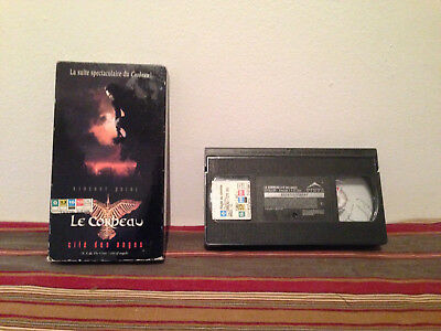 The Crow: City of Angels / le corbeau Cite des anges VHS Tape & sleeve FRENCH