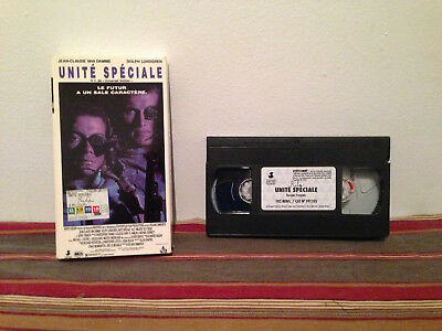 Universal Soldier / Unite speciale (VHS, 1992) tape & sleeve FRENCH 1/2