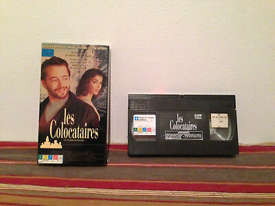 The Night We Never Met / Les colocataires  (VHS, 1993) tape & sleeve FRENCH