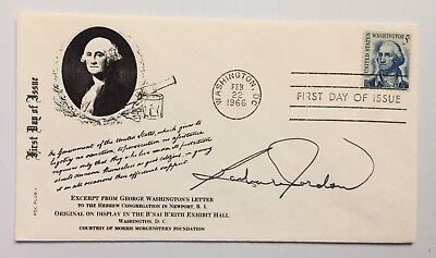 Congress Barbara Jordan Signed Autographed 1966 First Day Cover FDC - FREE S&H!