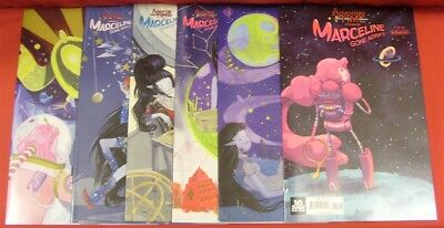 Adventure Time Marceline Gone Adrift 1-6 Boom Variant Comic Set 2015 Nm Rare!