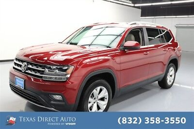 2018 Volkswagen Atlas 3.6L V6 SE Texas Direct Auto 2018 3.6L V6 SE Used 3.6L V6 24V Automatic AWD SUV