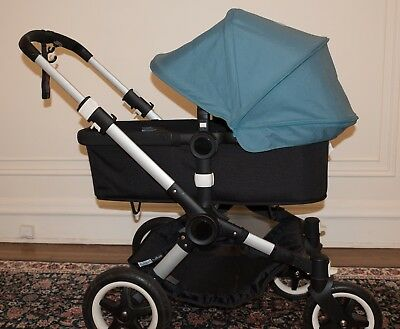 Bugaboo Buffalo Stroller, good condition free accessories-missing bassinet apron