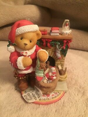 "Cherished Teddies ""Celebrate Family Friends And Tradition"" 1999 Figurine"