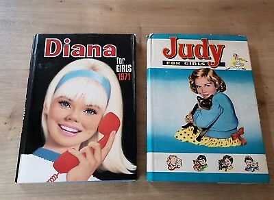 Vintage Judy For Girls Diana For Girls Annuals