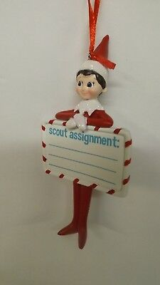 Dept 56 Elf On The Shelf Scout Assignment Ornament 4056878 MWT