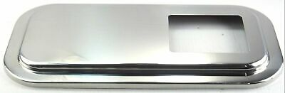 shift shifter plate floor cover extended hood stainless steel for Peterbilt