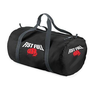 "FIST FULL® SPORTTASCHE ""LOGO"" Trainingstasche Boxen MMA Muay Thai Kickboxen"
