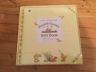 Mother Goose's Baby Book Brand New In Gift Box