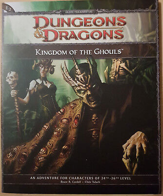 D&D Dungeons and Dragons 4th Edition Adventure - Kingdom of the Ghouls