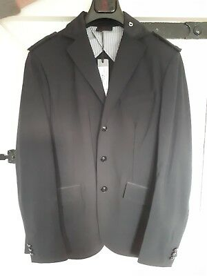 Cavalleria Toscana academy men's Show Jacket in black in size 48