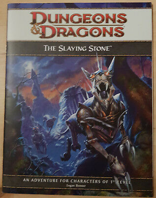 D&D Dungeons and Dragons 4th Edition Adventure - The Slaying Stone