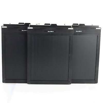 - 3 Lisco Regal II 8x10 Sheet Film Holder, Cut Film Holders (av)