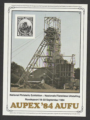 South Africa Cinderella 1984 National Philatelic Exhibition, Roodepoort. PA6