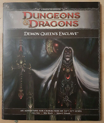 D&D Dungeons and Dragons 4th Edition Adventure - Demon Queens Enclave - P2