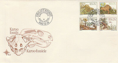 South Africa 1982 FDC No 4.2 Karoo Fossils c46
