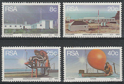 South Africa 1983 Weather Stations SG 537 - 540 Superb Mint A+A+ PA26