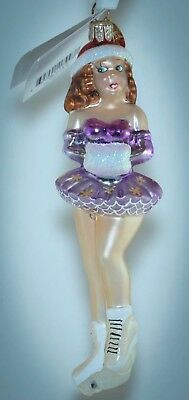 Christopher Radko Christmas Ornament BEAUTIFUL ICE SKATER'S WALTZ 00-074-0
