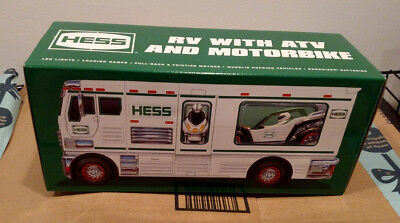 2018 Hess Toy Truck Collector's RV ATV Motorbike NEW NIB FREE SHIPPING