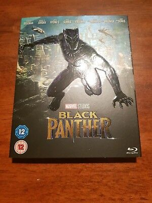 Marvel Black Panther blu ray