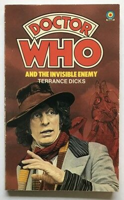 TV tie-in pb DOCTOR WHO & THE INVISIBLE ENEMY [#36] (Target 1979) Terrance Dicks