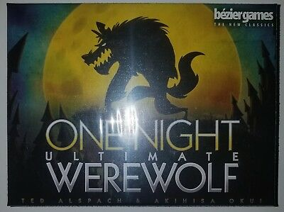 Bezier Games One Night Ultimate Werewolf Party Board Game