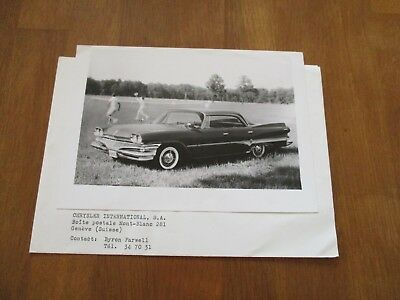 (1357) Dodge Dart pressphoto for 1960 original