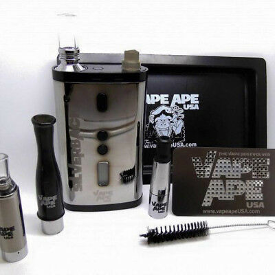 Vape Ape Crimson Ape Limited Edition Coffin Kit Glass Globe