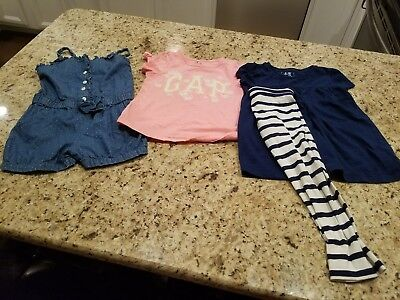 Gap Girls Size 5 Summer Clothes Lot Of 4