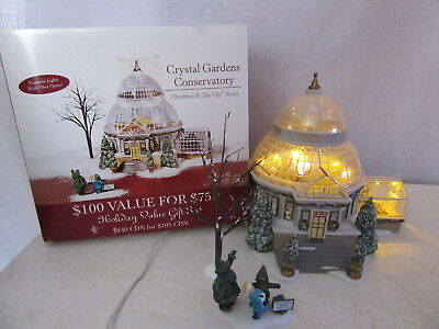 Dept 56 Christmas in the City Crystal Gardens Conservatory 59219