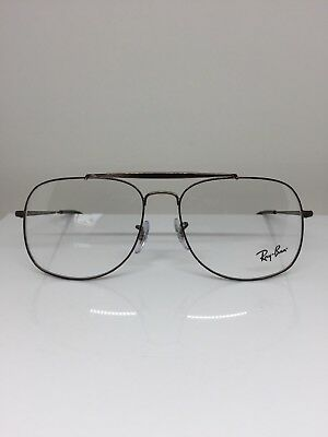 c8d81d3bbd1 New RAY BAN 6389 Aviator EYEGLASSES RX RB 6389 OPTICAL FRAME C. 2531 Brown  57mm