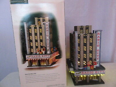 Dept 56 Christmas in the City Radio City Music Hall 58924